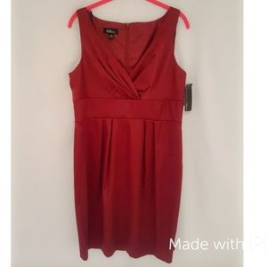 Little red cocktail dress